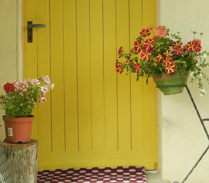 Gite front door
