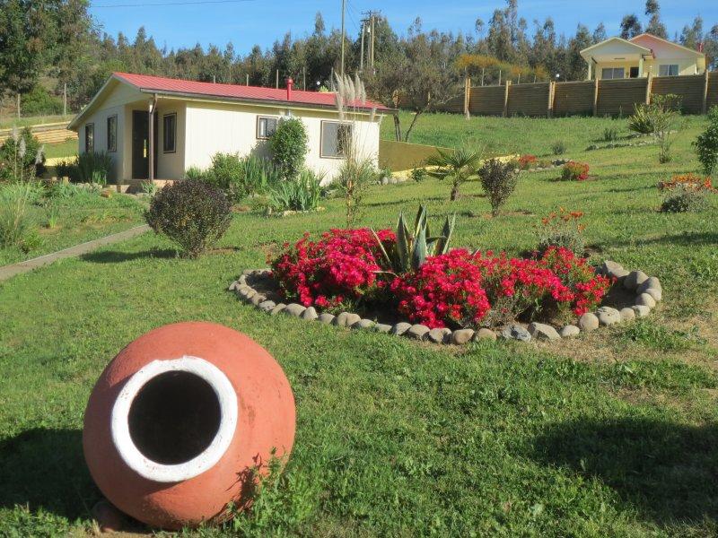 Los Aromos, una maravillosa cabaña en medio de la naturalezza!, holiday rental in Chillan