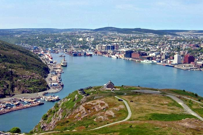 The Harbour of St. John's