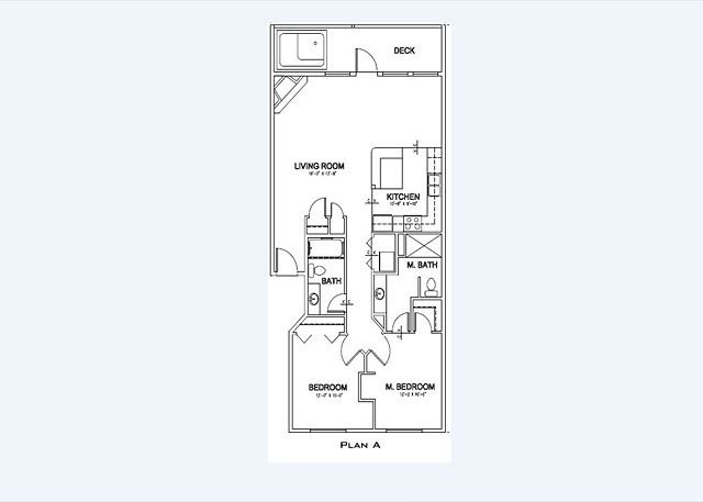 Floor Plan - Vacation Condo