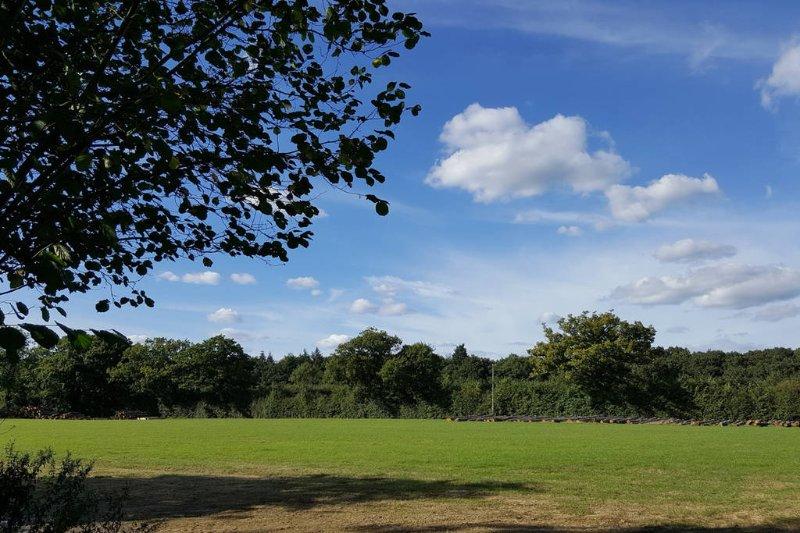 In beautiful rural Suffolk