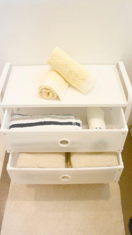 Free towels