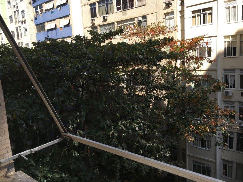 Vue de l'appartement (5ème. Avant au sol)