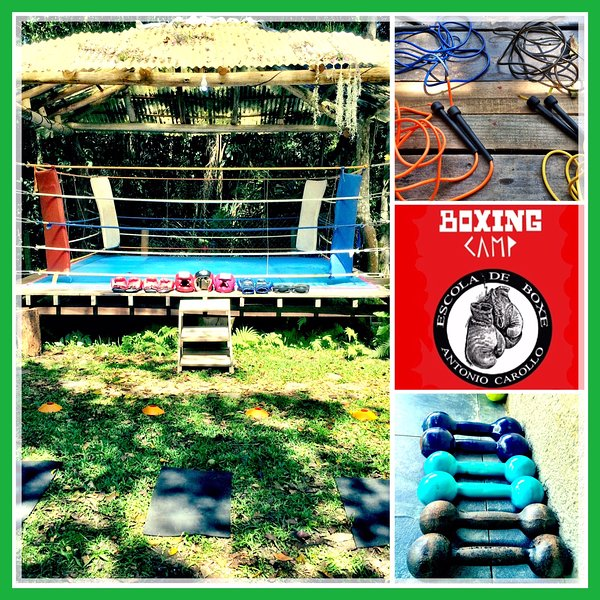 Boxing Camp, escola de boxe e treinamento funcional e hospedaria.