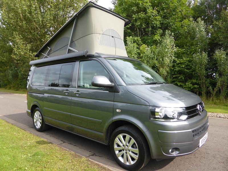 West Coast VW Camper Hire Scotland Has Central Heating and