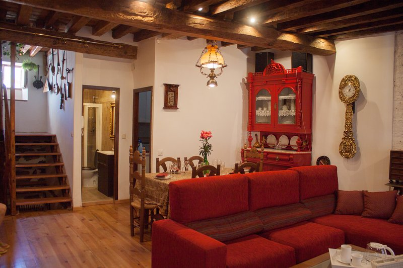 Accommodation in Arévalo with living room