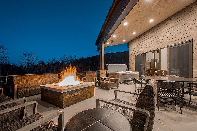 Outdoor-Lounge-Bereich