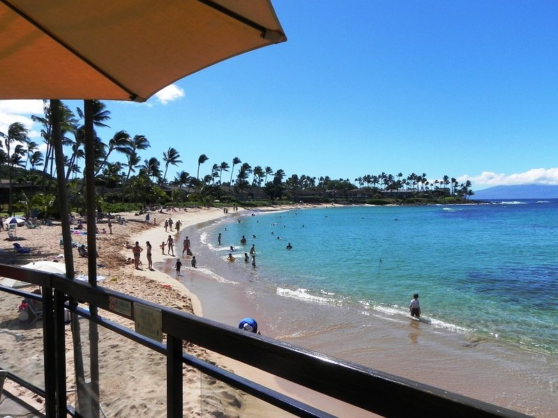 Sit here at our fav oceanside spot & sample local food and sip hand made MaiTais