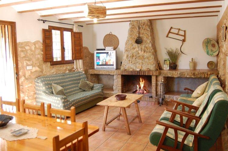 Alquiler de casas rurales en Nerpio, location de vacances à Santiago-Pontones