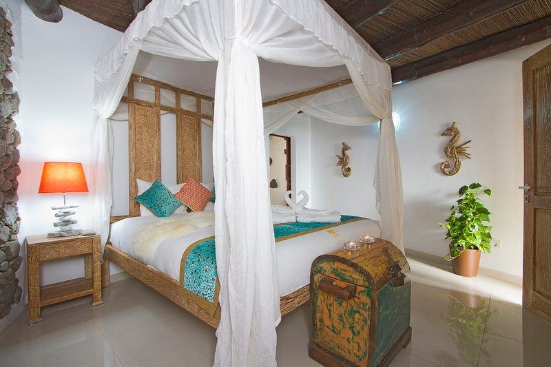 Stunning Eco Cabin 2 bedrooms; 5 min walk to beach restaurants/bar – semesterbostad i Arrieta