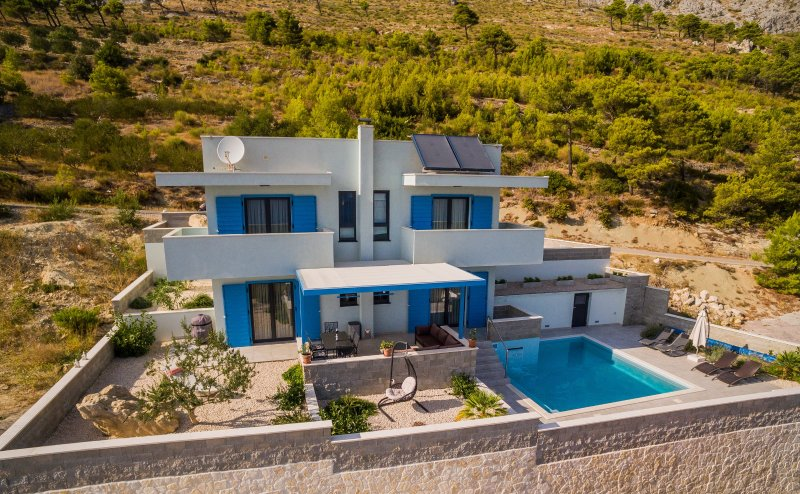 Villa Allegra surrounded by pure nature