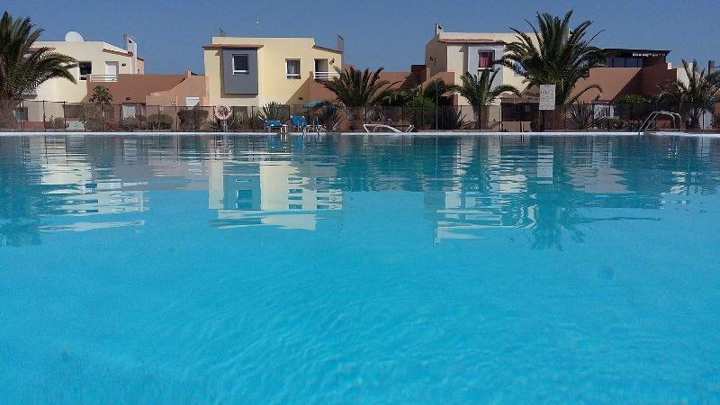 Hermosas piscinas de agua dulce