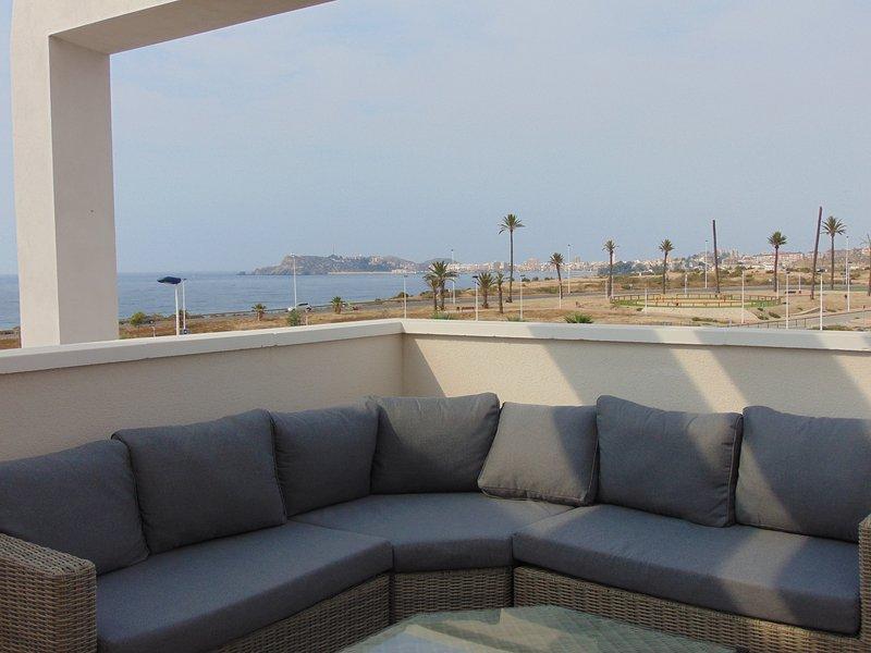 Una terrazza panoramica con vista favolosa
