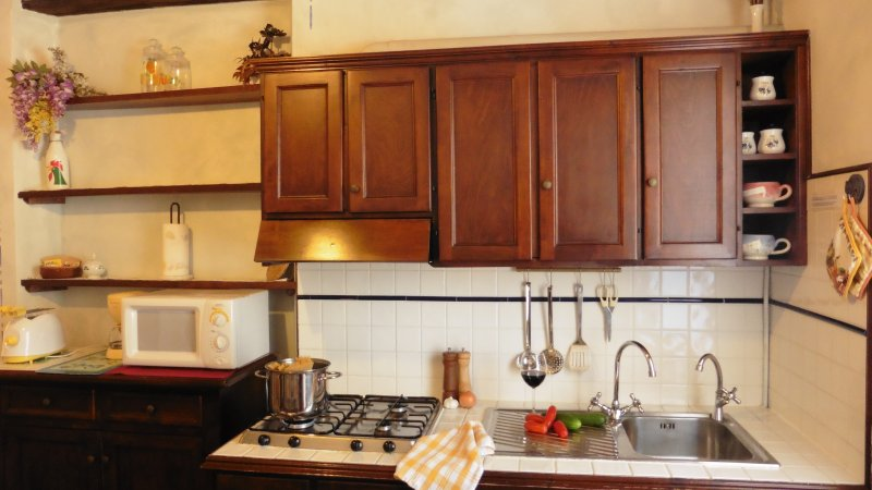 Glicine Apartment - kitchen