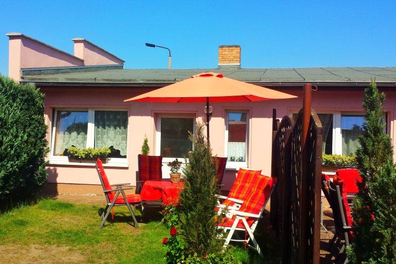 Ferienwohnung Heringsdorf 56 qm, strandnah, sonnig, Ferienwohnung in Seebad Heringsdorf