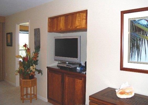 TV im Wohnzimmer