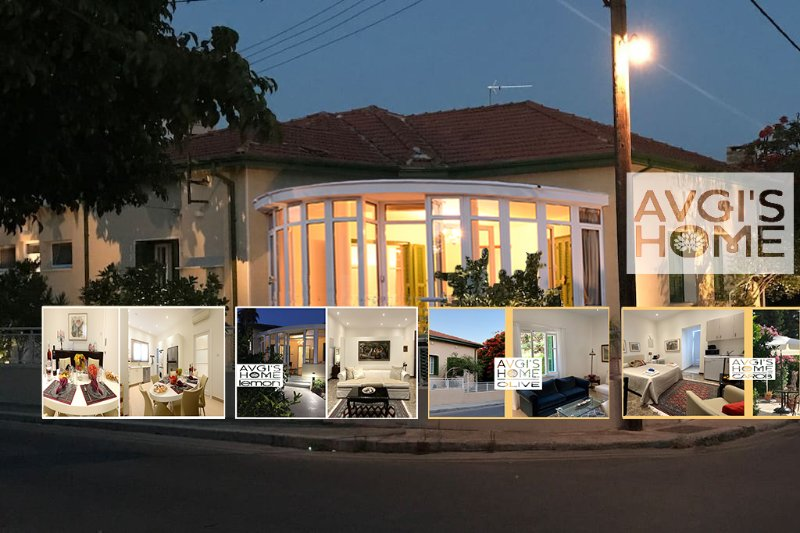 'Avgi's Home'-Villa with 3 Apartments for up to 10 guests, cozy, comfy, Luxury and Brilliant.