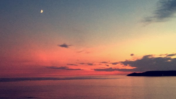 Sunset at Bovisand