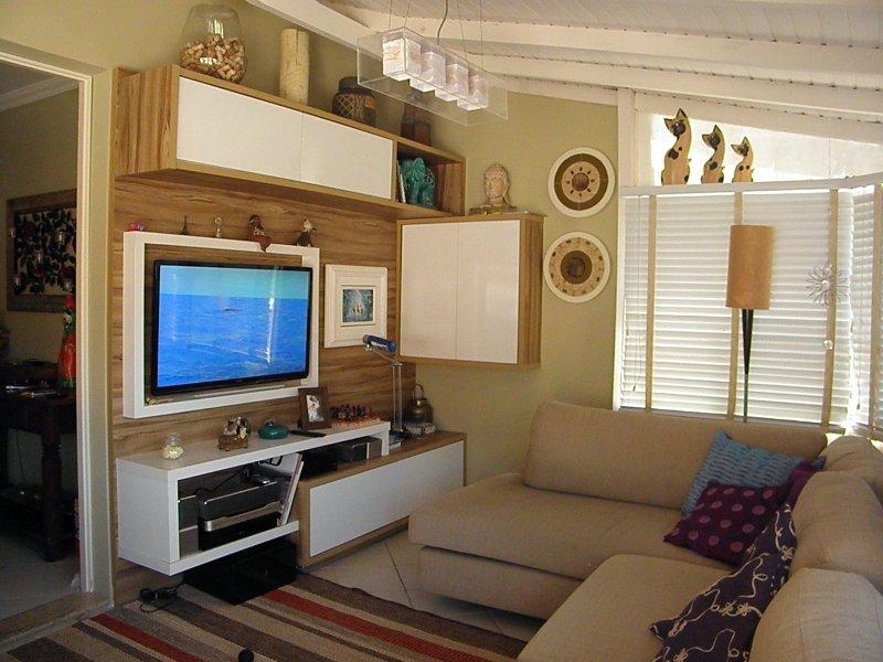 Confortável cobertura a 100m da praia-WIFI/cableTV, location de vacances à Governador Celso Ramos