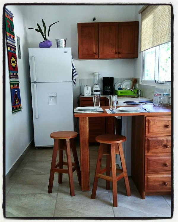 Fully Equipped Kitchen - Ceiba YELLOW Apartment