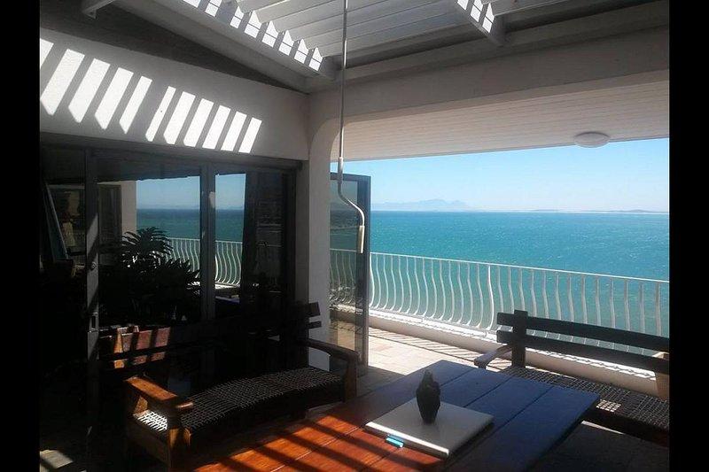 Mejor vista de la Bahía Falsa en Sudáfrica