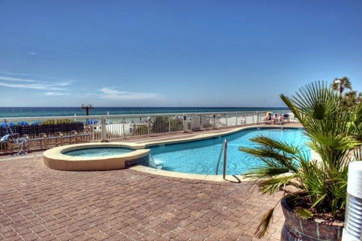 Seychellen zwembad dek!