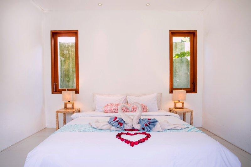 The Beautiful Bedroom with Honeymoon Set-Up