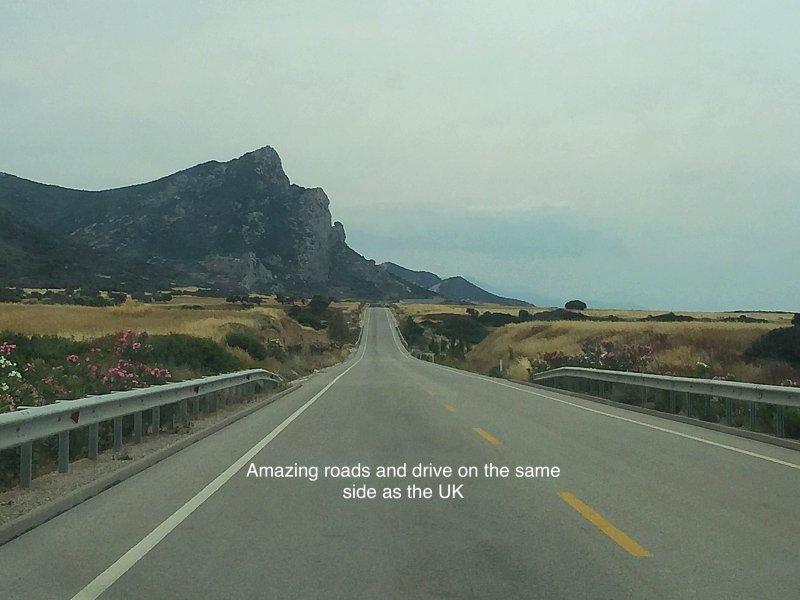Drive same side as UK