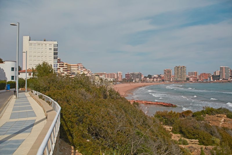 Surroundings. Playa de la Concha. Surroundings. Concha Beach.