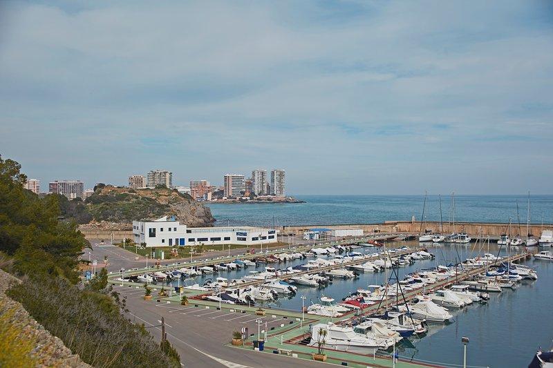 Alrededores.Puerto of Oropesa. Surroundings. Marina Oropesa del Mar