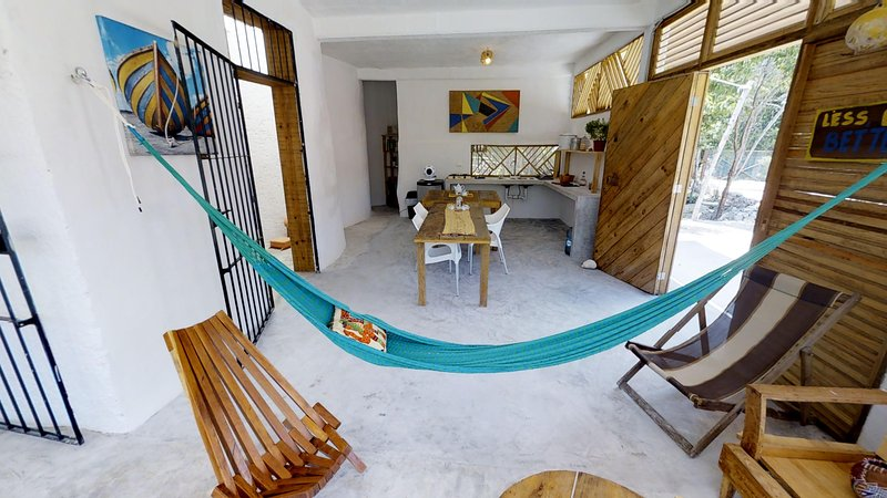 Casa Costal Puerto Morelos, Sleep in the Jungle