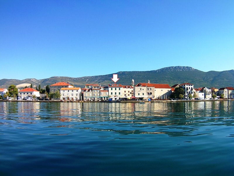 Holiday home Škeljo -  private house in the center with terrace, gym and kayak, holiday rental in Kastela
