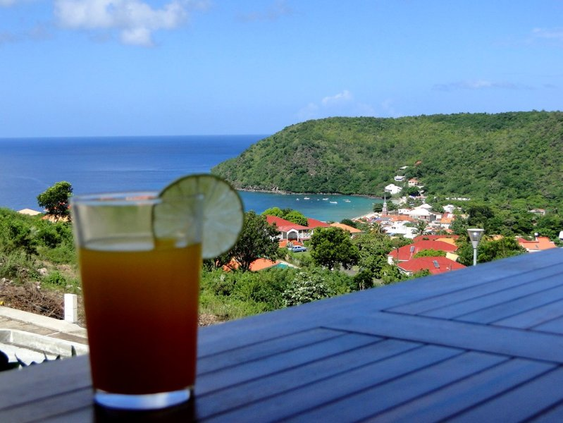 Punch on the terrace (roofed) and Sea view