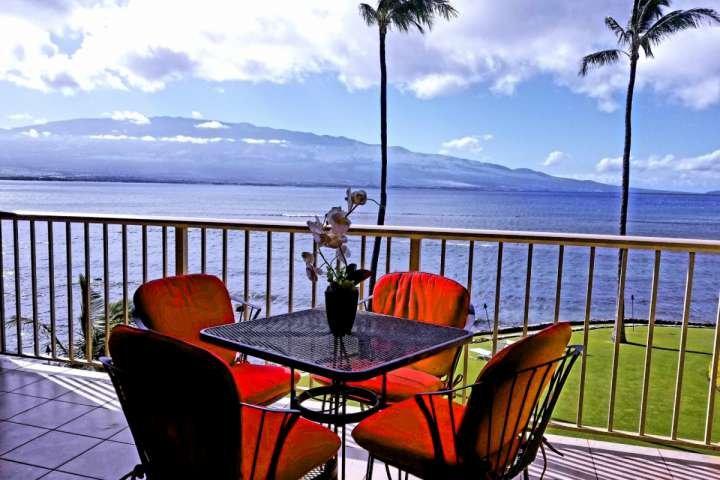Picturesque Oceanfront Lanai - amazing views - Ma'alea Kai