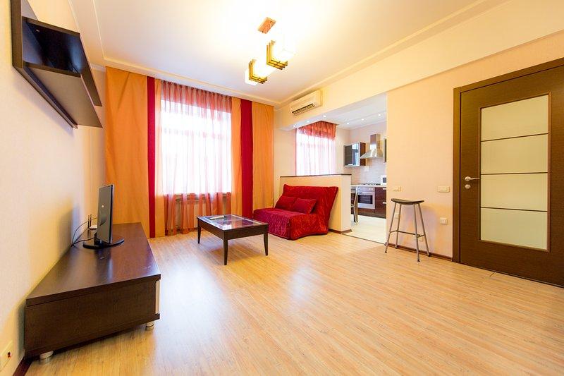 Apartment 5 Zvezd Revolution square, holiday rental in Chelyabinsk Oblast