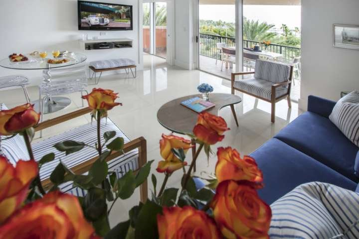 The updated decor, partial bay or pool views and luxury amenities will make it difficult to leave these luxurious suites.