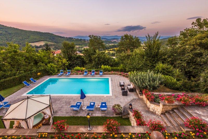 Villa Il Palazzo, holiday rental in Monterchi