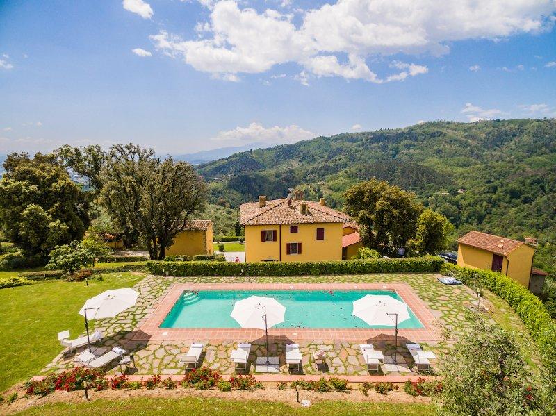 Villa Gialla, holiday rental in Borgo a Buggiano