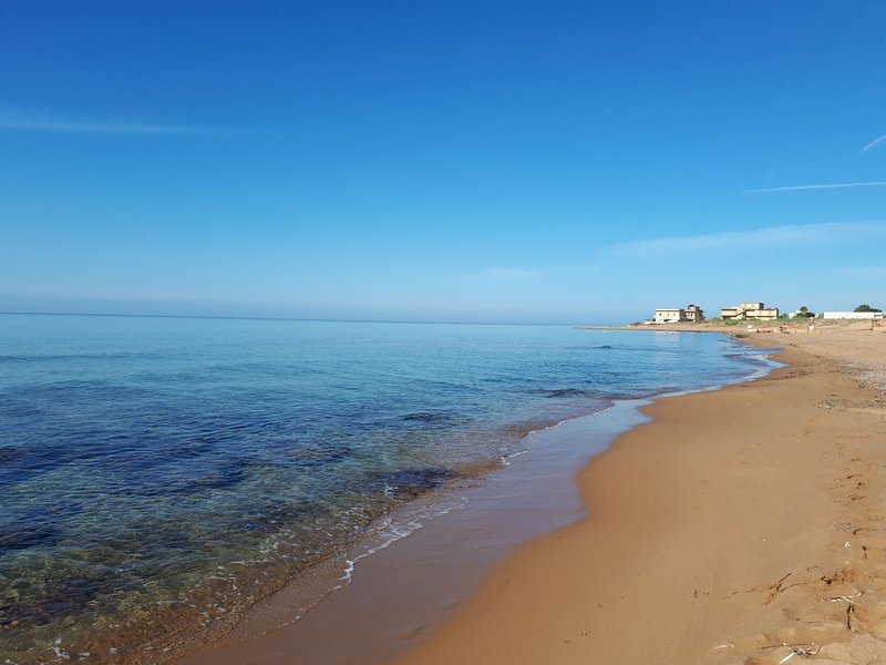Questa meravigliosa spiaggia a soli pochi passi