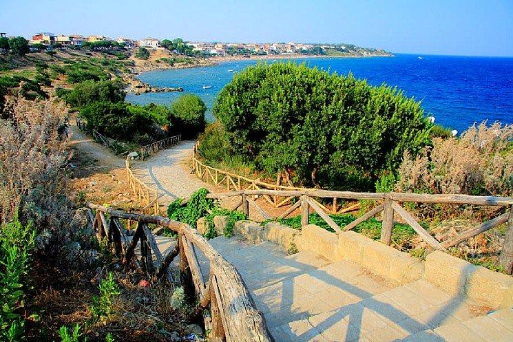 Japigium Villino Granchio con veranda sul mare, location de vacances à Province of Crotone