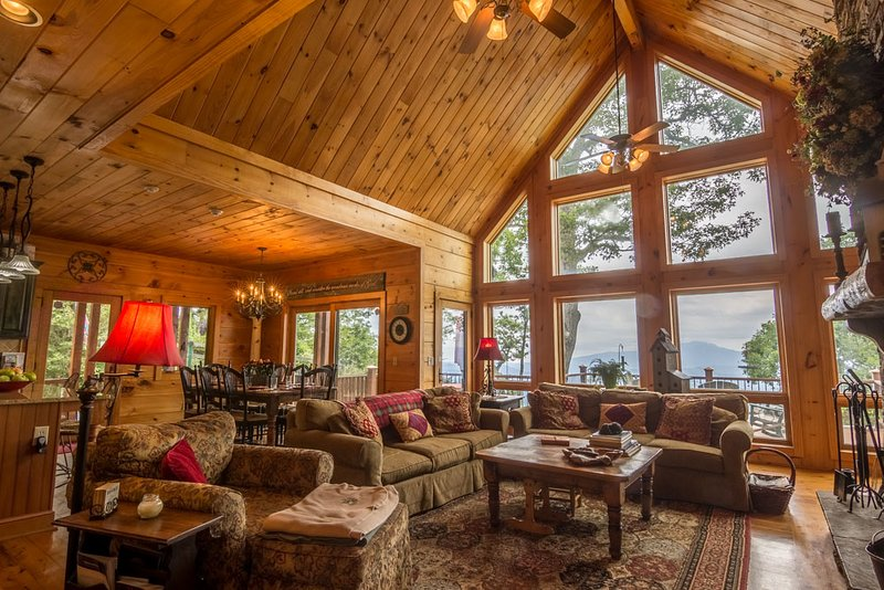 Innspiration updated 2019 4 bedroom cabin in boone with - 4 bedroom cabins in north carolina ...