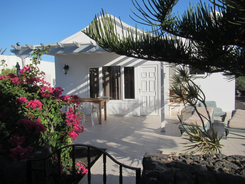 Casa Amarilla, private Terrasse.