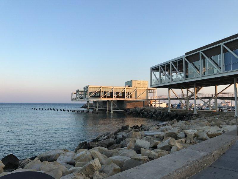 Limassol promenade near by Avgi's Home