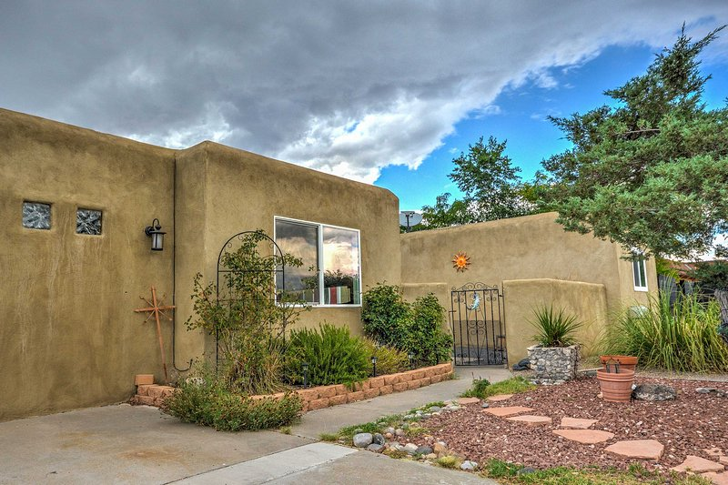A private oasis awaits you at this vacation rental in Rio Rancho.