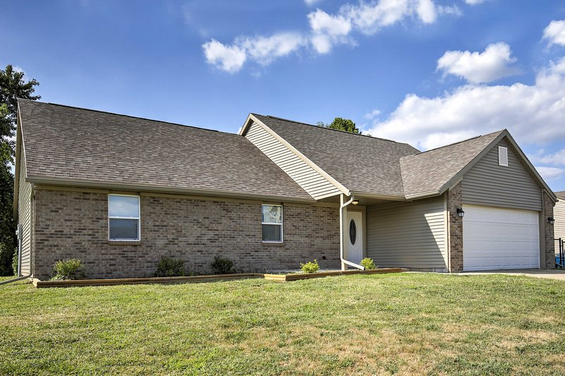 Experience all that Indianapolis has to offer from this 3-bedroom, 2-bathroom vacation rental house!