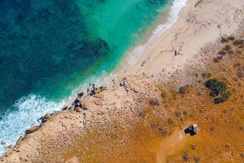 O seu 'próprio' pequena praia privada para o dia - acampamento remoto na estação Warroora com a incrível UE