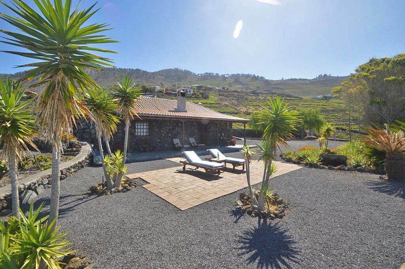 Holiday cottege with sea views in Fuencaliente, alquiler vacacional en Fuencaliente de la Palma