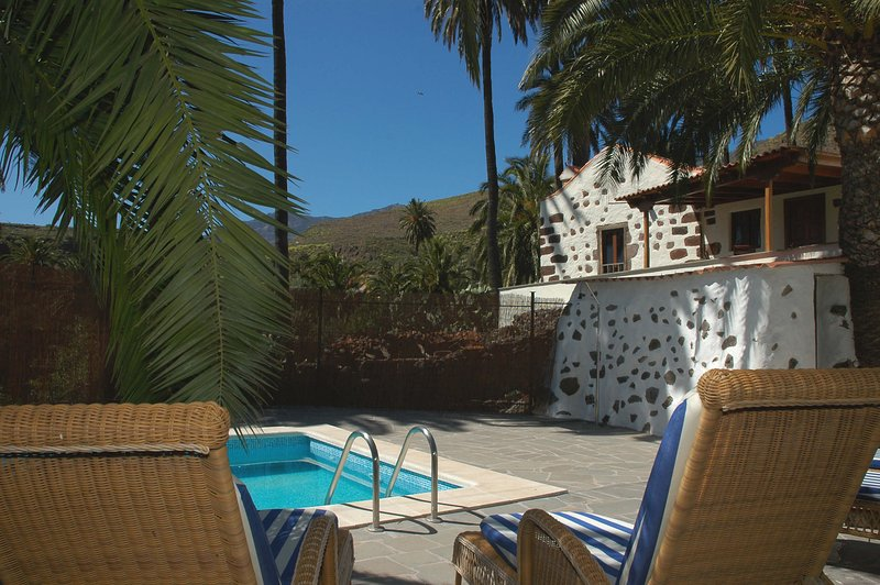 Holiday cottage with private pool in Santa Lucía, vacation rental in Santa Lucia