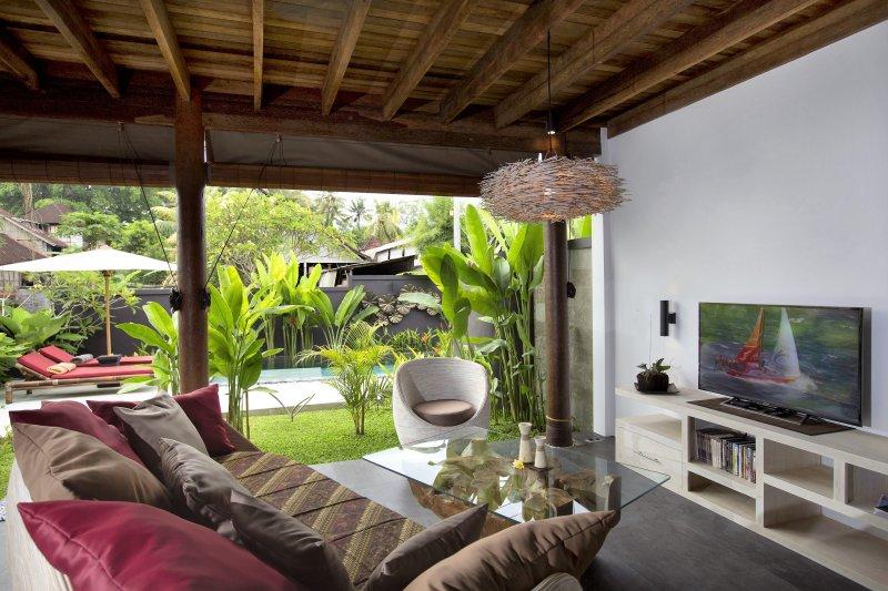 open living room Villa Nora