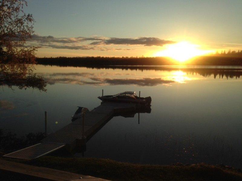 A little slice of heaven on West Beaver Lake.